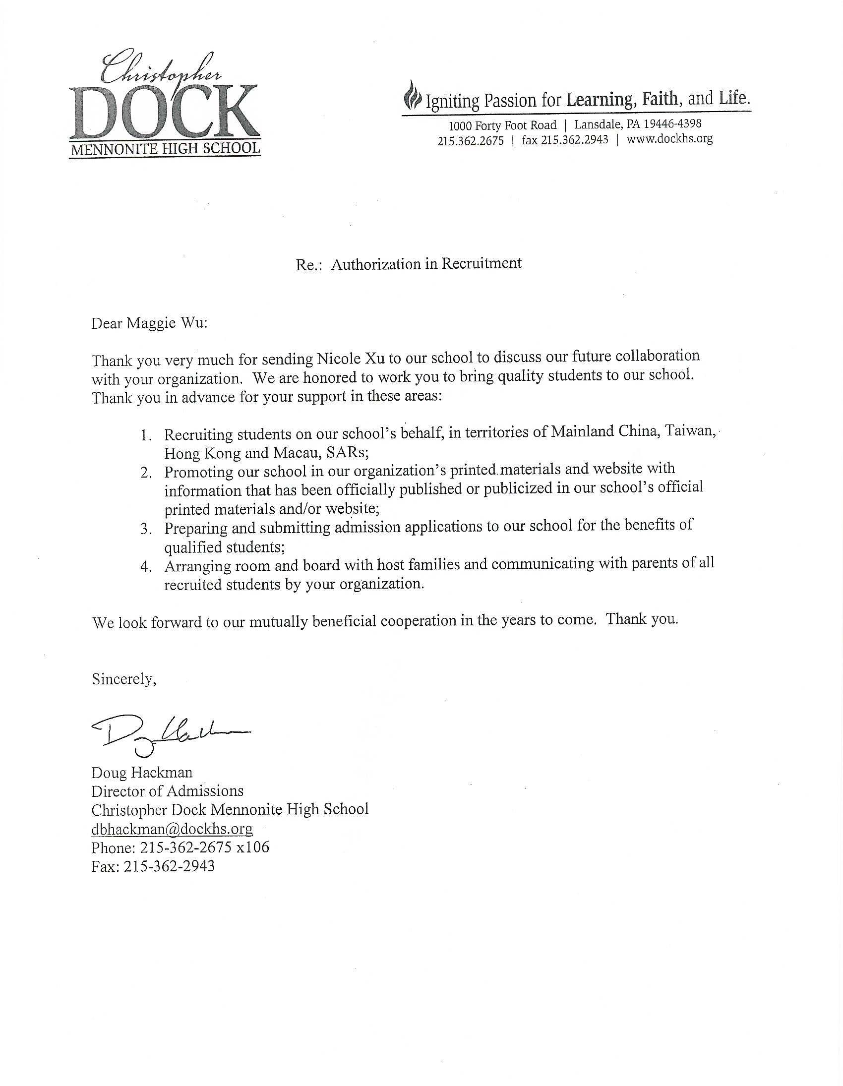 Christopher Dock Mennonite High School